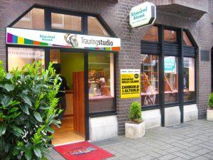 EIngang Schatzinsel Goldankauf in St.Tönis nähe Krefeld