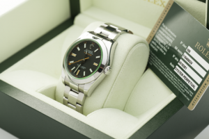Rolex Milgauss in der Box