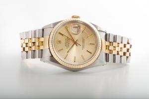 Ein Klassiker der 80er Jahre. Rolex Datejust bicolor.