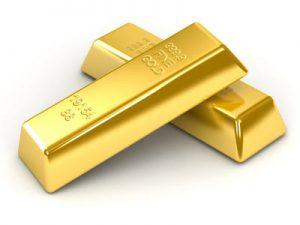 Barren aus Gold