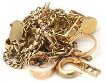 Solches Gold verkaufen die meisten Kunden.