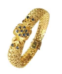 Ankauf von Armschmuck aus 750er Gold.