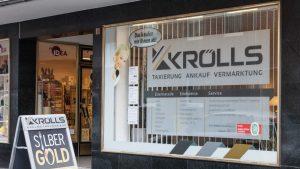 Filiale Edelmetallhandel Krölls, Oststr. 5, 40667 Meerbusch