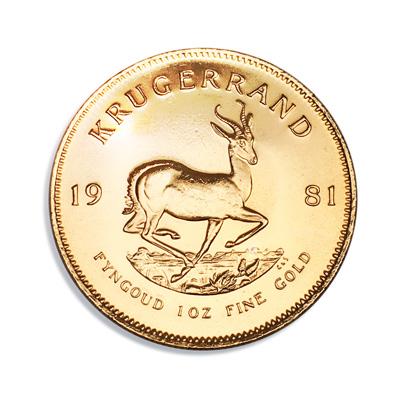 Die Krügerrand Münze ist wohl die bekannteste Anlagemünze