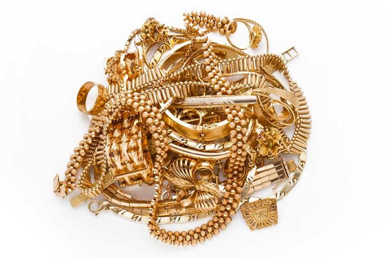 Goldschmuck Armbänder, Goldketten, Goldringe, Golduhren