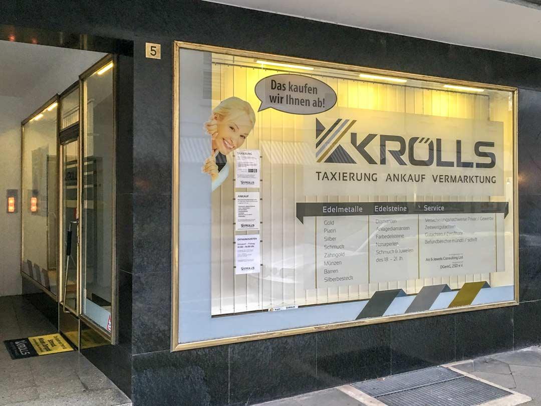 Edelmetallhandel Krölls - Welcher Goldankauf ist seriös?